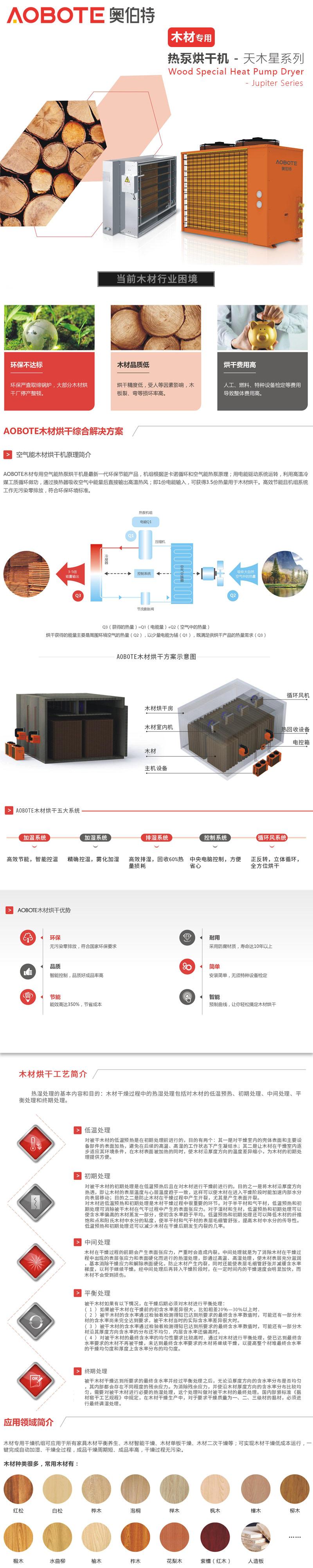 木材热泵烘干机